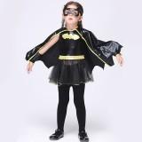 Wholesale - Halloween Costumes for Girls Batman Cosplay Costume Set EK074