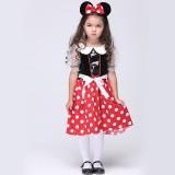 Wholesale - Halloween Costumes for Girls Mickey Cosplay Costume Set EK130