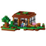 wholesale - MineCraft Block Mini Figure Toys Compatible with Lego Parts First Night 408Pcs