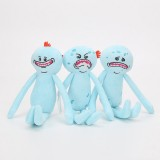 Wholesale - Rick and Morty Plush Toys Meeseeks Happy / Sad / Angry Figures