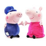 "Wholesale - 2Pcs Peppa Pig Plush Toys Grandpa & Grandma Stuffed Animals Set 30cm/11.8"" Tall"