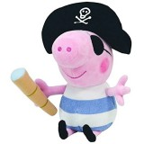 """Wholesale - Peppa Pig Plush Toy Pirate George 29cm/11"""" Large Size"""