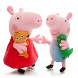 "Wholesale - Peppa Pig Plush Toy Peppa & George 2Pcs 29-33cm/11-13"" Large Size"