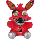 Wholesale - Five Nights at Freddy's Nightmare Foxy Plush Toy 7Inch Doll