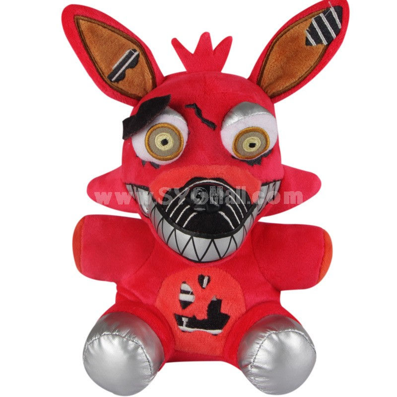 Five Nights at Freddy's Nightmare Foxy Plush Toy 7Inch Doll