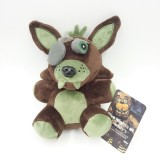 Wholesale - Five Nights at Freddy's Brown Foxy Plush Toy 7Inch Doll