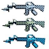 Wholesale - Minecraft Foam Diamond Submachine Figure Toys 62.5CM/25Inch