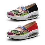 Wholesale - Women's Canvas Platforms Slip On Sneakers Athletic Air Cushion Walking Shoes 1531