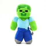 wholesale - Minecraft Green Zombie Plush Stuffed Toy 30cm/12Inch Large Size
