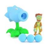 Wholesale - Plants Vs Zombies Action Figures Shooting Toys Sonw Pea Set
