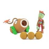 Wholesale - Plants Vs Zombies Action Figures Shooting Toys Coconut Cannon Set