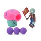 Wholesale - Plants Vs Zombies Action Figures Shooting Toys Fume-Shroom Set