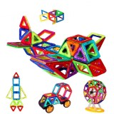 Wholesale - 109 Pieces Magnetic Building Blocks Tiles Sky Wheel Set Educational Toys for Kids Toddlers Children
