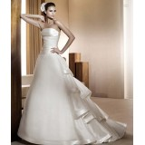 Wholesale - A-ling Strapless Sweep Train Wedding Dress