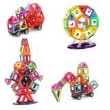 Wholesale - 141 Pieces Magnetic Building Blocks Tiles Sky Wheel Set Educational Toys for Kids Toddlers Children