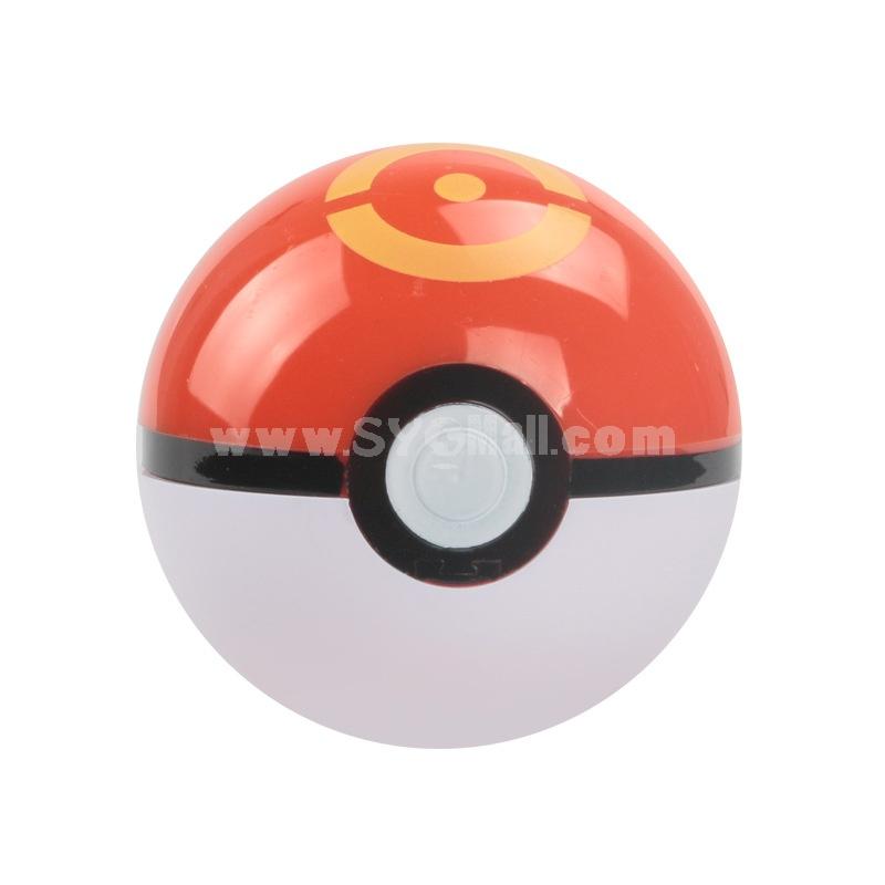13Pcs Set Pokémon Pokemon Balls Action Figures Pokeballs Mini Models Classic Anime Pikachu Super Master Toys 7CM/2.8Inch