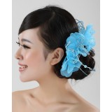 Wholesale - Gorgeous Tulle/ Polyester Wedding Bridal Flower/ Corsage/ Headpiece