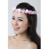 Wholesale - Korean Style Rose Wreath/Wedding Bridal Headpiece