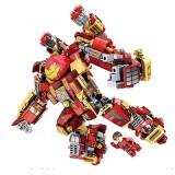 Wholesale - Mech Armor Iron Man Block Figure Toys Lego Compatible 616 Pieces MK44