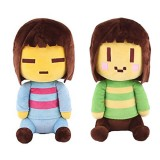 Wholesale - Undertale Frisk Chara Plush Toy Stuffed Doll 25cm/10Inch Tall