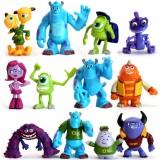 wholesale - 12Pcs Set Monsters University PVC Action Figures Garage Kit Toys