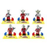 wholesale - Ultraman Blocks Mini Figure Toys Compatible with Lego Parts 6Pcs Set