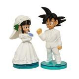 Wholesale - Dragon Ball Goku ChiChi Wedding PVC Action Figures Toys 2Pcs Set