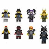 wholesale - Ninjago Lego Compatible Block Mini Figure Toys 8Pcs Set A009-016