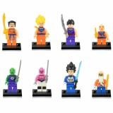 wholesale - Dragon Ball Lego Compatible Block Mini Figure Toys 8Pcs Set EG18012