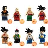 Wholesale - Dragon Ball Lego Compatible Block Mini Figure Toys 8Pcs Set XP048-055
