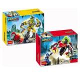 wholesale - Hero Factory Lego Compatible Rocka Crawler and Tunneler Beast Vs Surge Building Blocks 2Pcs Set 10403-10404