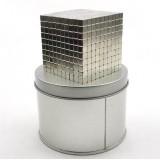 Wholesale - 5MM 1000Pcs Set Magnetic Cubes Buckycubes Neocube Silver