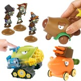 wholesale - Plants vs Zombies Pull-back Shooting Toys Cob Cannon / Coconut Cannon / Carrot Launcher in Gift Box