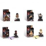 wholesale - WWE Wrestlers Block Mini Figure Toys Compatible with Lego Parts 4Pcs Set SY160