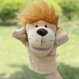 wholesale - Nici Cartoon Animal Hand Puppet Plush Toy - Yellow Lion