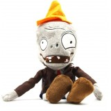 wholesale - Plants VS Zombies Plush Toy Stuffed Animal - Conehead Zombie 28cm/11Inch Tall