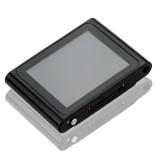 Wholesale - LCD Screen 4GB FM Radio USB Rechargeable Mini Clip MP3 Player - Black