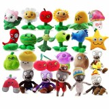 wholesale - 24Pcs Plants VS Zombies Plush Toys Stuffed Animals 15-20cm Tall