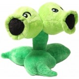 Wholesale - Plants VS Zombies Plush Toy Stuffed Animal - Split Pea 15CM/6Inch Tall