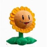 wholesale - Plants VS Zombies Plush Toy Stuffed Animal - Sun Flower 35CM/14Inch Tall (Large Size)