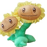 Wholesale - Plants VS Zombies Plush Toy Stuffed Animal - Twin Sunflower 16CM/6.3Inch Tall