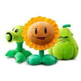 wholesale - Plants Vs Zombies Plush Toys Large Size Peashooter / Sunflower / Squash 30cm/12Inch
