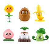 wholesale - Plants vs Zombies Action Figure Toys 2-in-1 Set in Gift Box