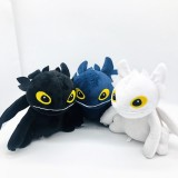 wholesale - How to Train Your Dragon Night Fury Toothless Dragon Family Plush Toys Stuffed Animals 20cm/8inch