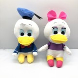 Wholesale - Donald Fauntleroy Duck and Daisy Duck Plush Toys Stuffed Dolls 2Pcs Set 18cm/7Inch