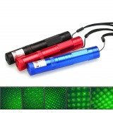 wholesale - 1000MW High Power 532NM Green Laser Pointer Pen with Starry Cap 851