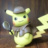 Wholesale - Detective Pikachu Pokémon Action Figures PVC Toys 13cm/5Inch Tall