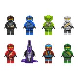 wholesale - Ninjago Lego Compatible Building Blocks Mini Figure Toys 8Pcs Set A090-097