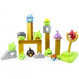 Wholesale - Angry Birds Space Version Building Blocks Shooting Toys 6 Birds 5 Pigs Set In Backpack