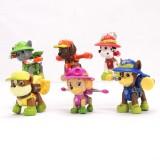 wholesale - 6Pcs Set Paw Patrol Roles PVC Action Figure Toys 2.5Inch Tall